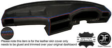 M STITCHING REAL LEATHER DASH DASHBOARD COVER FITS BMW 3 SERIES E30 1982-1992