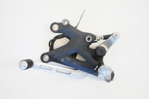 2013-TRIUMPH-675-STREET-TRIPLE-FRONT-LEFT-SIDE-FOOTREST-PEG-HANGER-ASSEMBLY