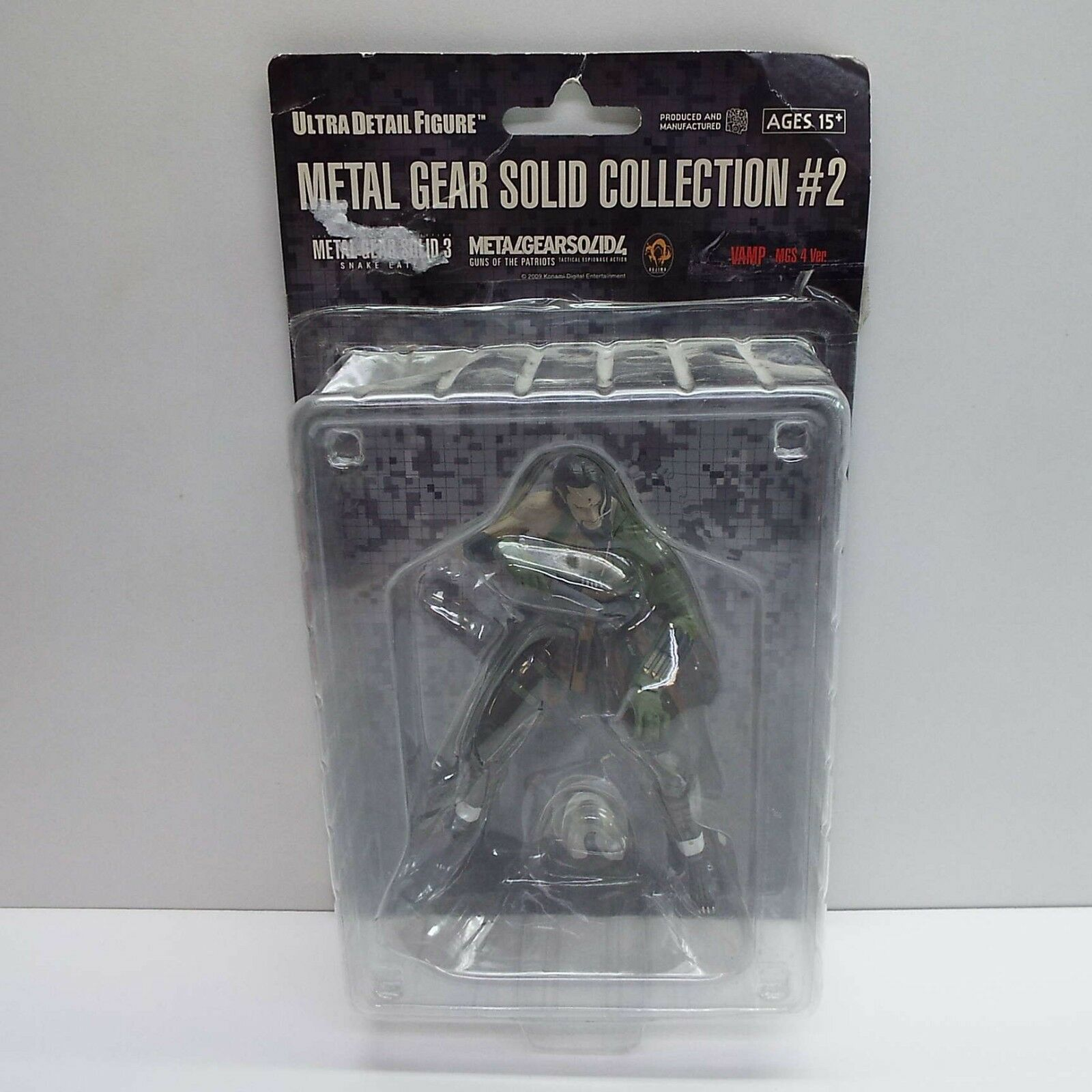 METAL GEAR SOLID COLLECTION FIGURE VAMP MGS 4 VER. (LOOK DESCRIPTION) H2200