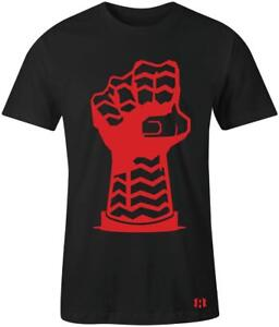 034-Sole-Fist-034-Mens-T-Shirt-to-Match-Habanero-Red-034-Foams-034
