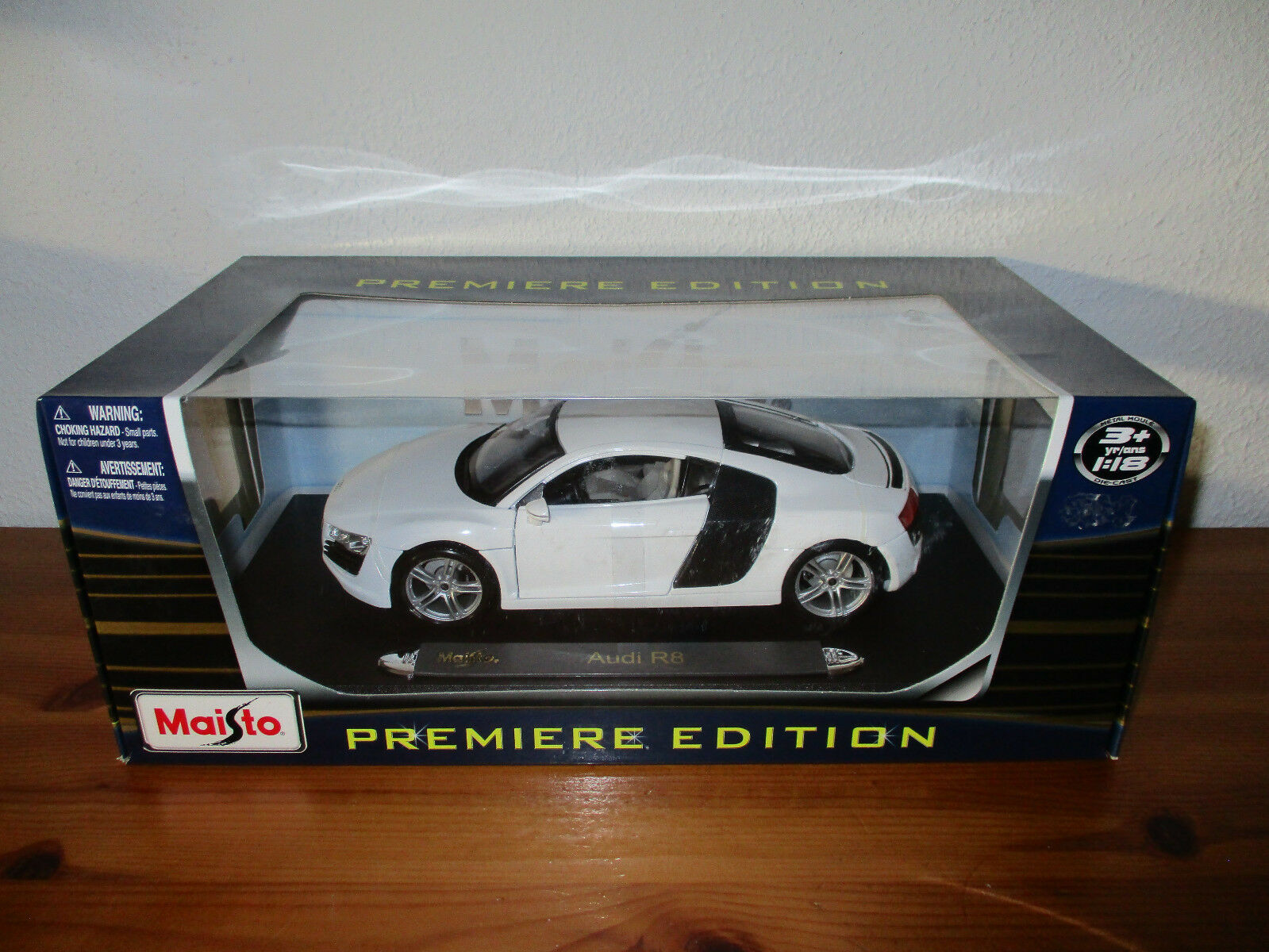(Go) 1 18 MAISTO AUDI AUDI AUDI R8 NEUF Emballage Scellé 5b8a37