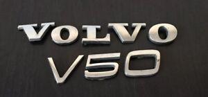 C11 VOLVO V50 Trasero Insignia emblema logo 2.20cm alto