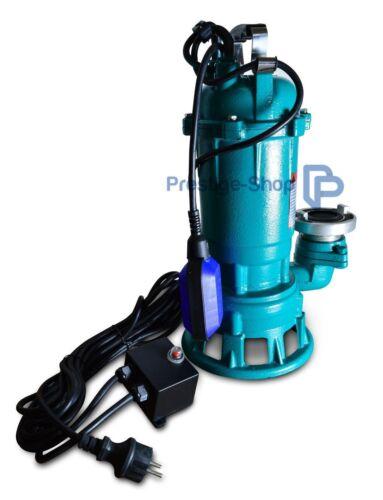 Sumergible 1,5kw agua sucia bomba fäkalienpumpe nadador variantes 1500 vatios