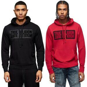 True-Religion-Men-039-s-Mirror-Logo-Reflection-Pullover-Hoodie-Sweatshirt