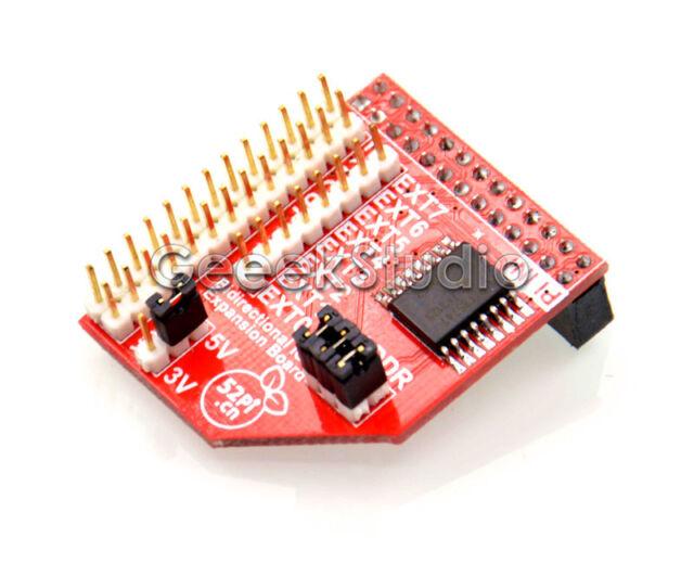Raspberry Pi 2 Model B & Model B+ I2C GPIO Expansion Board IO Extend Module