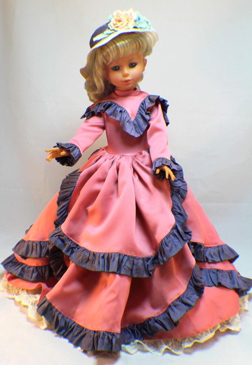 Vintage Italian Zanini & Zambelli Melanie Doll  23  in gown