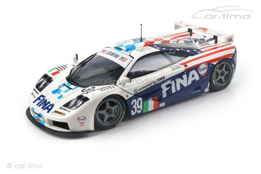 McLaren f1 GTR - 24h Le Uomo 1996-CECOTTO PIQUET Sullivan-MINICHAMPS - 1