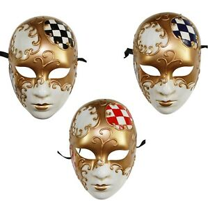 Image is loading Full-Face-Mysterious-Eyes-Wide-Shut-Inspired-Venetian-  sc 1 st  eBay & Full Face Mysterious Eyes Wide Shut Inspired Venetian Masquerade ...