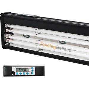 Odyssea-T5-Quad-Timer-Aquarium-Light-Marine-FOWLR-Cichlid-LED-24-30-36-48-72