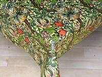 William Morris Golden Lily Pvc Oilcloth 1.32m Square