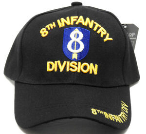 afdc5d1c700 Image is loading 8TH-INFANTRY-DIVISION-Cap-Hat-Military-FREE-SHIPPING