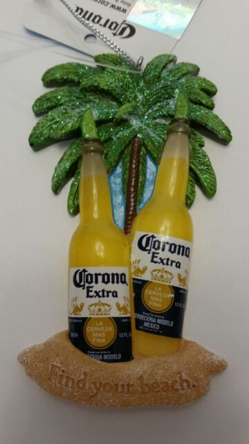 """4"""" Corona Beer Bottles w/Limes, FIND YOUR BEACH Christmas ..."""