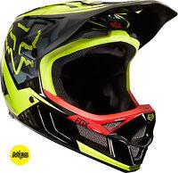 Fox Racing Rampage Pro Carbon Mips Demo Helmet Black Camo