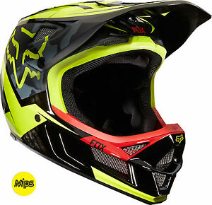 Image is loading Fox-Racing-Rampage-Pro-Carbon-MIPS-Demo-Helmet- 646d57c0bc