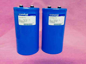 89000UF 75V 89000 uf GE Capacitors lot of TWO