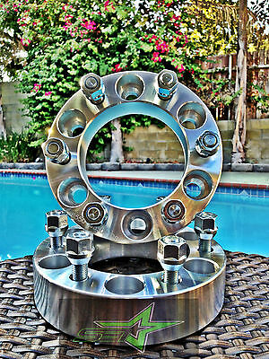 """2 CHEVY GMC CADILLAC WHEEL SPACERS 