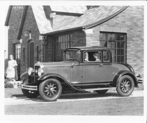 Factory Photo Ref. # 90803 1929 Studebaker Dictator Eight 4 Passenger Coupe