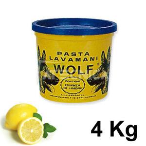 Pasta Handwashing Degreasing With Essence Of Lemon Atecnica Wolf 4 KG