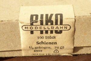Piko-6815-H0-100-x-Gleis-DDR-Produktion-Passstueck-1-3-R380-Gebogene-Standardgleis