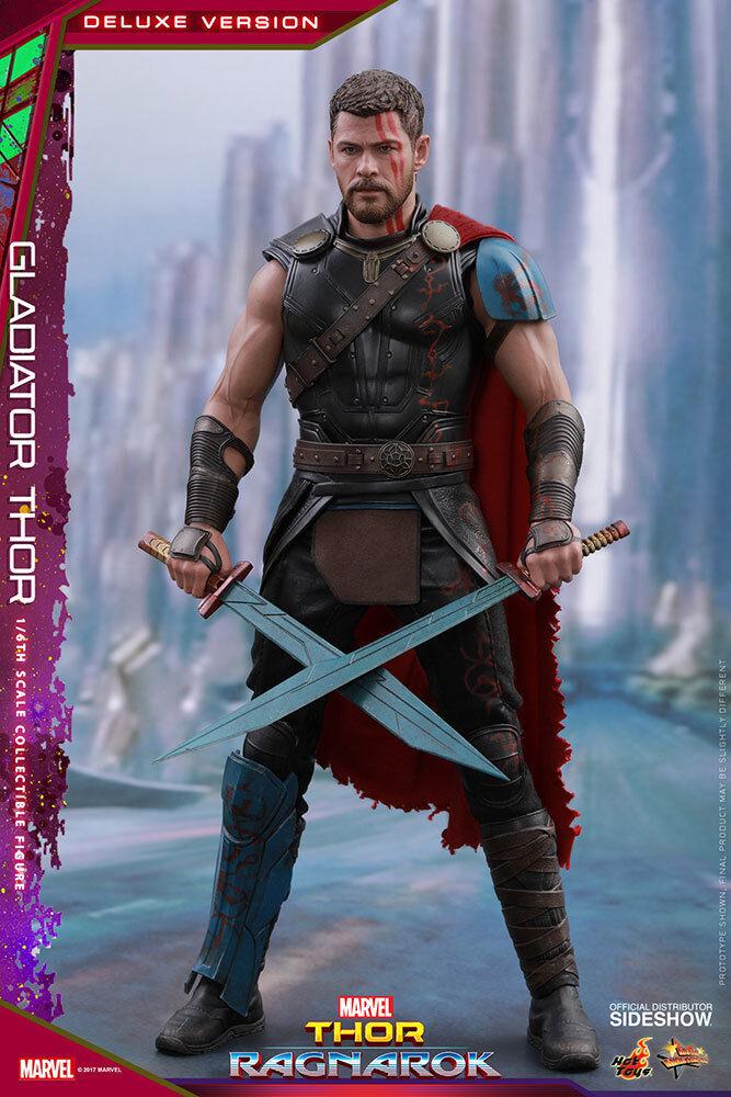 1 6 Thor  Ragnarok Gladiator Thor Deluxe Version MMS Hot Toys 903104