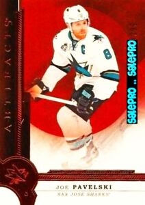 UD-ARTIFACTS-2016-JOE-PAVELSKI-SAN-JOSE-SHARKS-124-MINT-CARD-RED-LIMITED-299