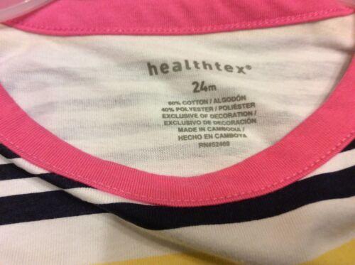 Healthtex ht bg knit dress stripe