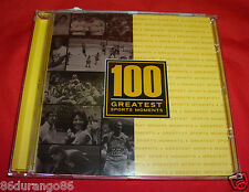 100 GREATEST SPORTS MOMENTS CD ALI/FOREMAN BABE RUTH 1936 CARL LEWIS
