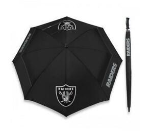 Regenschirm-XXL-Oakland-Raiders-NFL-Football-Stockschirm-Umbrella-Neu