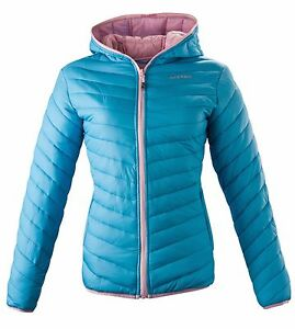 Blu Full Zip Donna Yves Ros Acerbis Piumino Lady Tg Giubbotto Cappuccio 100gr M xqzYaw0vw