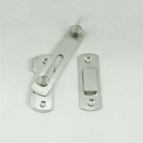 Heavy Duty Stainless Steel Home Safety Gate Door Bolt Latch Slide Lock Tool New