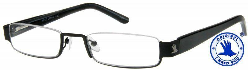 Lesebrille aus Metall Lesehilfe halbrand Unisex Brille 1,0 bis 3,0 Neu