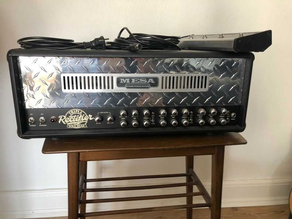 Guitartop, Mesa Boogie Triple Rectifier, 150 W