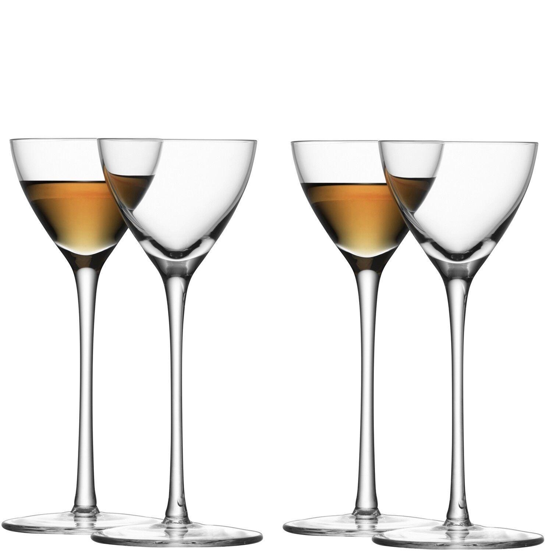 LSA LSA LSA Bar Liqueur Glass - clear - Set of 4 060a32