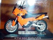 KTM 950 RALLY LC8 LC 8 ORANGE 1/24 SCALE MINT&RARE!!!