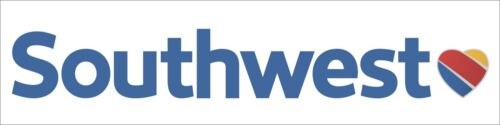 """Southwest Airlines Sticker About 20*8.8CM 7.87""""*3.46"""" 1 PC"""