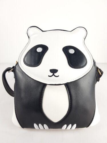 New UK Women/'s Girls Cute Animal Panda Shape Cross Body Bag//Girls Messenger Bag