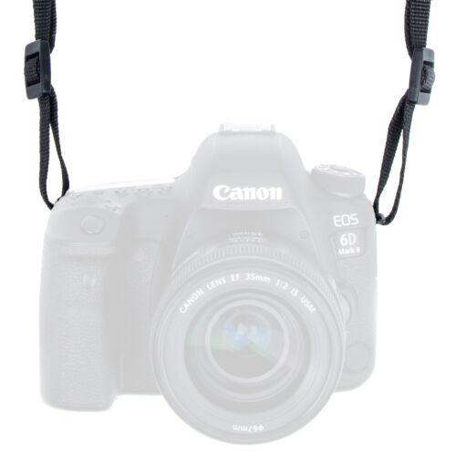 Nikon Sony Fuji Kameragurt in Leder-Optik: Schultergurt passend für Canon