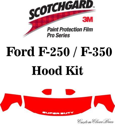 3M Scotchgard Paint Protection Film Pro Series 2017 2018 2019 Ford F-250 F-350