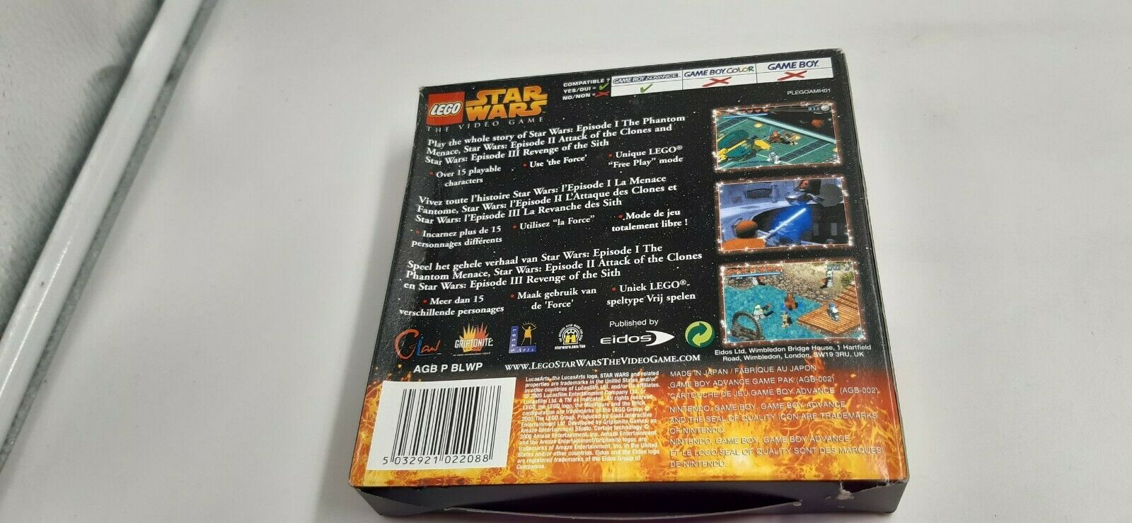 Jeu Nintendo Game Boy Advance GBA Lego Star - pas cher StarWars