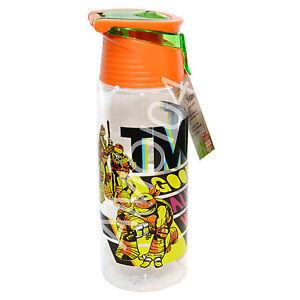 Teenage Mutant Ninja Turtles TMNT Zak Boys Water Drink Bottle BPA-Free 739ml
