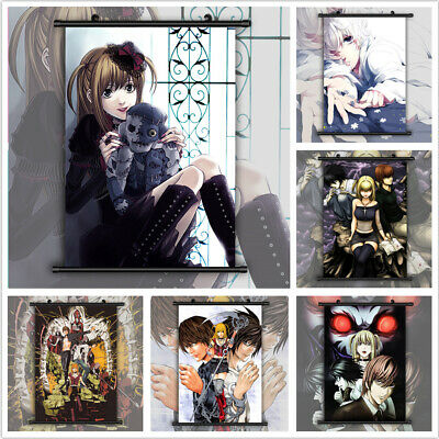 Death Note Misa Amane Anime HD Print Wall Poster Scroll Home Decor Cosplay