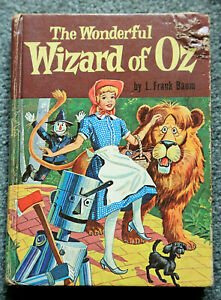 The Wonderful Wizard Of Oz By L Frank Baum Whitman Hardcover 1957 Ebay