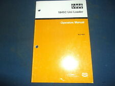 Case 1845c Uniloader Skid Steer Operator Operation Amp Maintenance Book Manual Oem