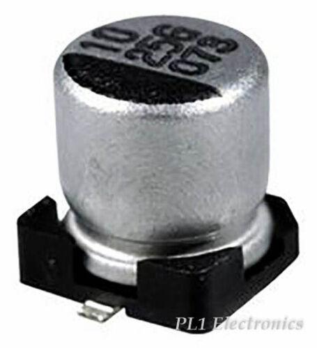 KEMET exv107m025a9haa PAC SMD prezzo per 10 alluminio Elec 100uF 25V