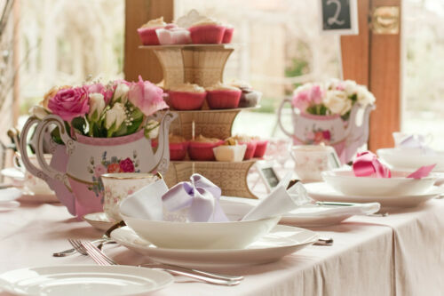 Party Vintage Chic Teapot-style Flower Vase Table Centrepiece Details about  /Wedding