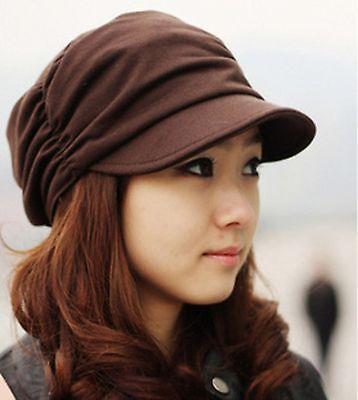 1pc Women Ladies Girls Winter Warm Beret Baggy Ski Chic sun Beanie Hats Cap
