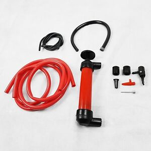 Siphon Pump For Fuel Water Oil Liquid Petrol And Diesel Perfect For DIY And Cars