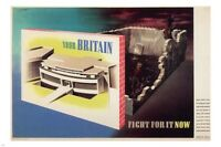 Your Britain-fight For It Now Vintage War Poster A. Games Uk 1942 24x36 Gem