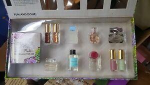 Sephora Favorites Deluxe Perfume Sampler Gucci Flowerbomb New Wo