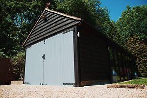 Image Is Loading Green Oak Framed Office Outbuilding 9m Wide X